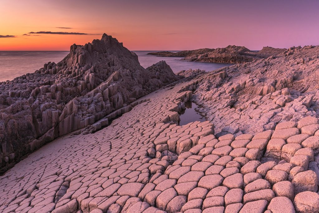 1e prix monde - Orgues basaltiques du cap Stolbchaty, Russie. Ekaterina Vasyagina, CC-by-SA 4.0
