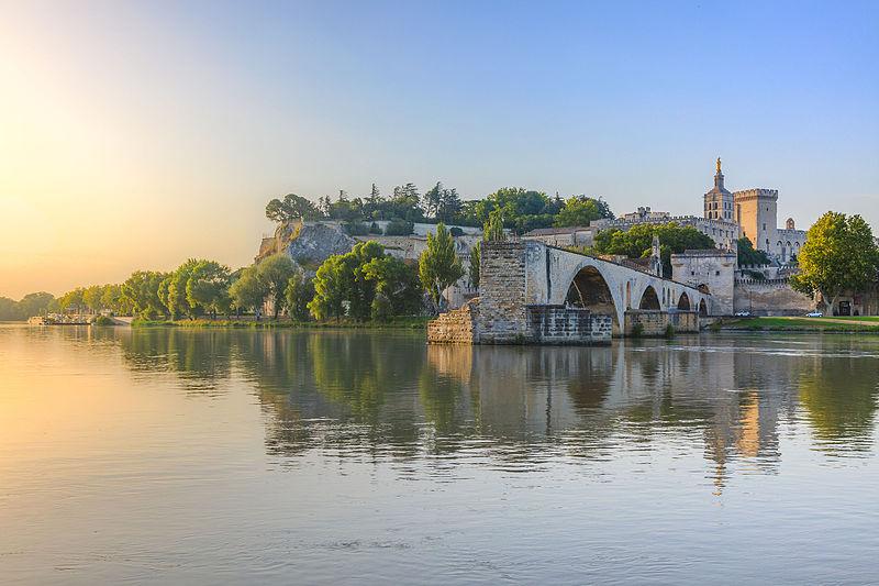 Pont Saint-Bénézet à Avignon dans le Sud de la France. 1er prix de WLM France 2013