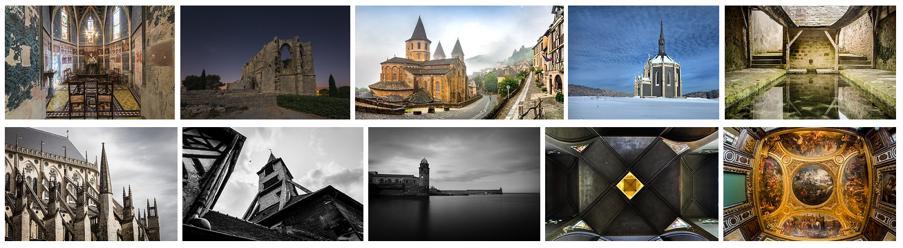 Top 10 Wiki Loves Monuments France 2018