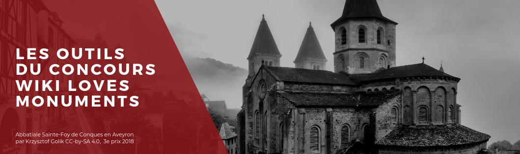 3e place – L'abbatiale Sainte-Foy de Conques, Aveyron par Krzysztof Golik CC-by-SA 4.0