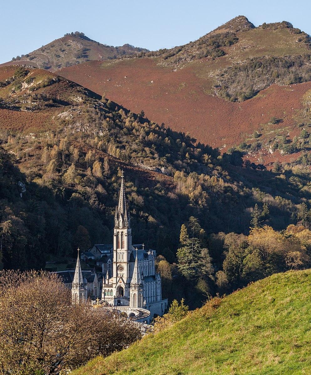 Photo du jour Wiki Loves Monuments 2019 - Le sanctuaire de Lourdes